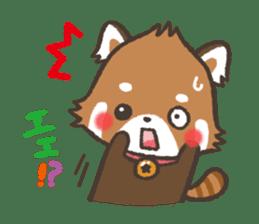 mild-Lesser-panda sticker #4908394