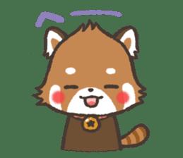 mild-Lesser-panda sticker #4908396
