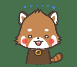 mild-Lesser-panda sticker #4908397