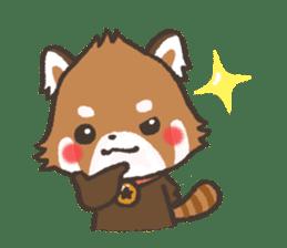 mild-Lesser-panda sticker #4908399