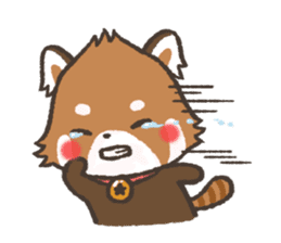 mild-Lesser-panda sticker #4908400