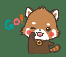 mild-Lesser-panda sticker #4908401