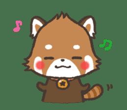 mild-Lesser-panda sticker #4908402
