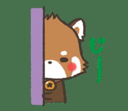 mild-Lesser-panda sticker #4908403