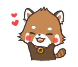 mild-Lesser-panda sticker #4908404