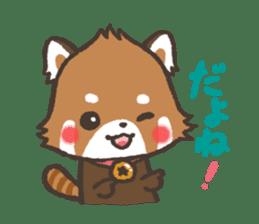 mild-Lesser-panda sticker #4908406