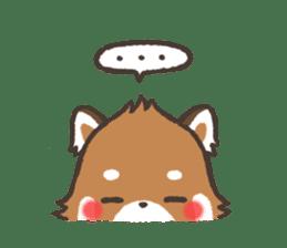 mild-Lesser-panda sticker #4908407