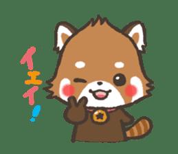 mild-Lesser-panda sticker #4908408