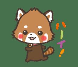 mild-Lesser-panda sticker #4908409