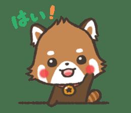 mild-Lesser-panda sticker #4908410