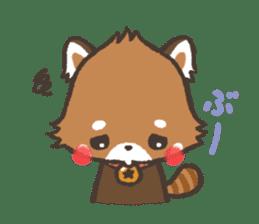 mild-Lesser-panda sticker #4908411