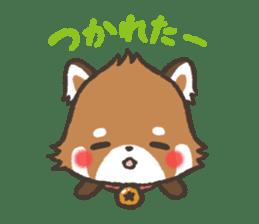 mild-Lesser-panda sticker #4908412