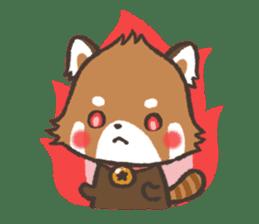 mild-Lesser-panda sticker #4908413