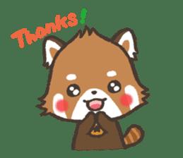 mild-Lesser-panda sticker #4908414
