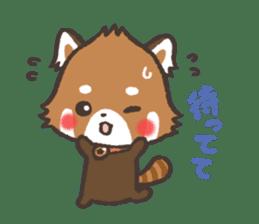 mild-Lesser-panda sticker #4908416