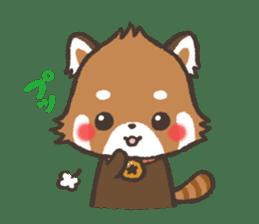 mild-Lesser-panda sticker #4908418