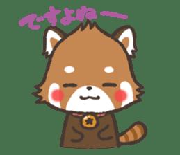 mild-Lesser-panda sticker #4908420
