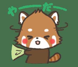 mild-Lesser-panda sticker #4908421