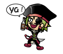 Diamond Pirate-part 2 sticker #4912229