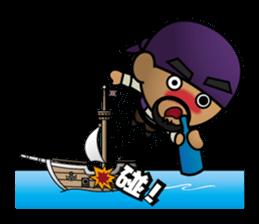 Diamond Pirate-part 2 sticker #4912248