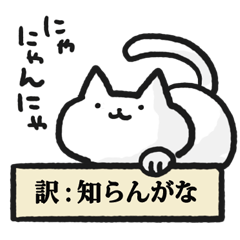 Cats that are appropriately translated.