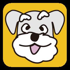 DOG Sticker/schnauzer