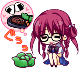 """The Fruit of Grisaia"" SD sticker sticker #4917441"