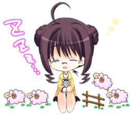 """The Fruit of Grisaia"" SD sticker sticker #4917442"