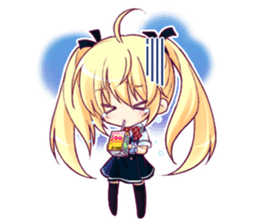 """The Fruit of Grisaia"" SD sticker sticker #4917447"
