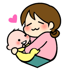 Lovely life of mom and baby