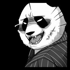 A little scary panda