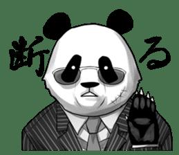 A little scary panda sticker #4926336