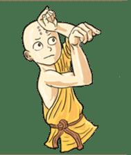 Kung-fu Master And Apprentice sticker #4928042