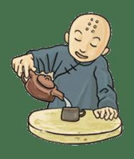 Kung-fu Master And Apprentice sticker #4928044