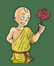 Kung-fu Master And Apprentice sticker #4928051