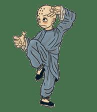 Kung-fu Master And Apprentice sticker #4928056