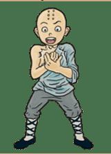 Kung-fu Master And Apprentice sticker #4928058
