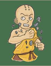 Kung-fu Master And Apprentice sticker #4928061