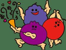 macho vegetables&fruit sticker #4936407