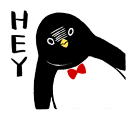The bossy penguin in the South Pole! sticker #4939008