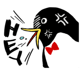 The bossy penguin in the South Pole! sticker #4939009