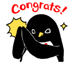 The bossy penguin in the South Pole! sticker #4939014