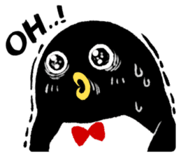The bossy penguin in the South Pole! sticker #4939020