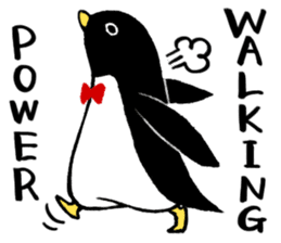 The bossy penguin in the South Pole! sticker #4939026