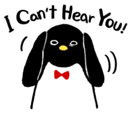 The bossy penguin in the South Pole! sticker #4939030