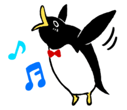 The bossy penguin in the South Pole! sticker #4939034