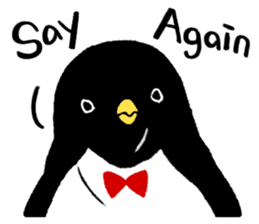 The bossy penguin in the South Pole! sticker #4939036