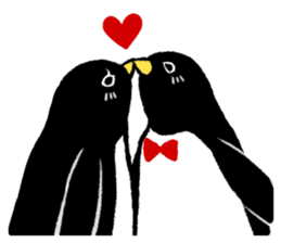 The bossy penguin in the South Pole! sticker #4939042