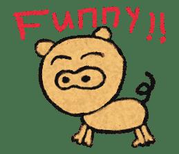 crayon friend baby drawing sticker #4941033