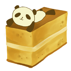 Panda That Lives on Sweets